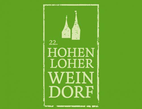 Das Hohenloher Weindorf auf dem Marktplatz in Öhringen